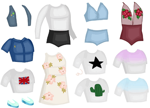 Одежда для конкурсов в Аватарии