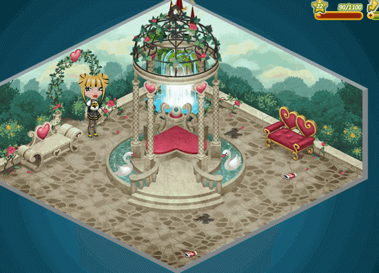 Весенняя комната в Аватарии