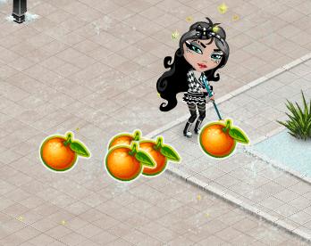 Собрать мандарины Аватария
